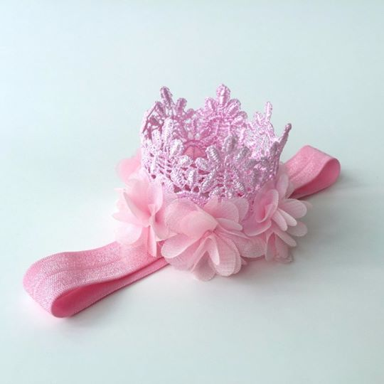 "3"" High Pretty in Pink Princess Crown"