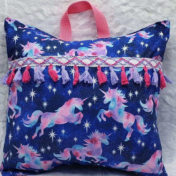 Unicorn Pocket Reading Pillow
