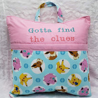 Gotta Find the Clues Pokemon Reading Pillow