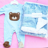 Bear Blue Onesie
