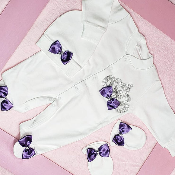 Purple 3 Piece Take Me Home Outfit