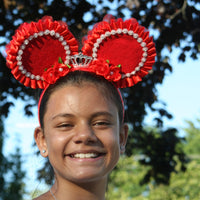 Royal Rose Teen & Adult Custom Minnie Mouse Ears with Crown