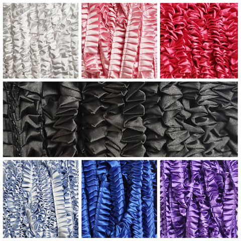 Ruffle Box Pleat Ribbon by the yard