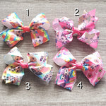 LOL Printed Bows