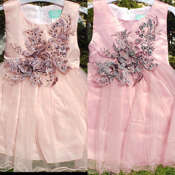 Applique Dress