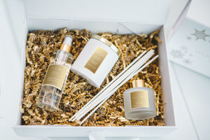 At Home With Madam Ori Christmas Gift Set - Silk Rose with Oudh