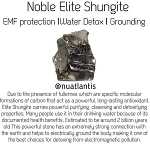Nobel Elite Shungite Water Bottles