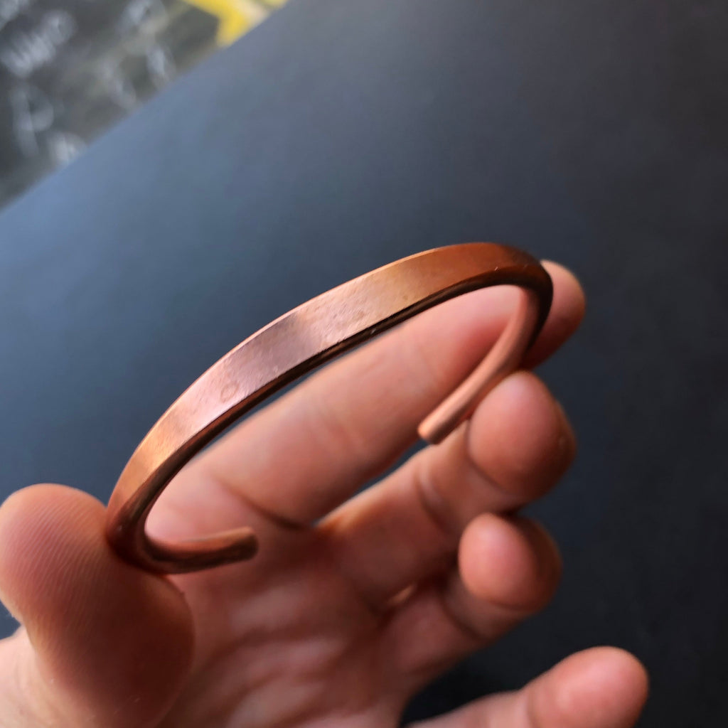 Pure Raw Copper Bracelet