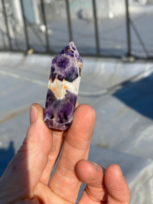 Amethyst Crystal Pipe