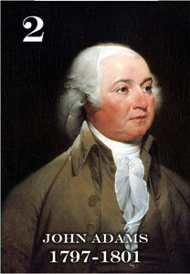 "02 JOHN ADAMS - 2X3"" FRIDGE MAGNET"
