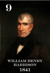 "09 WILLIAM HENRY HARRISON - 2X3"" FRIDGE MAGNET"