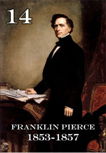 "14 FRANKLIN PIERCE - 2X3"" FRIDGE MAGNET"