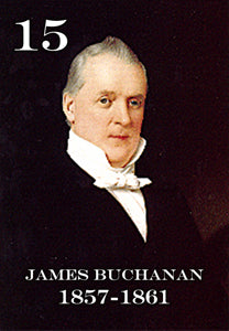 "15 JAMES BUCHANAN - 2X3"" FRIDGE MAGNET"