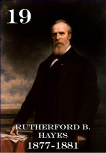 "19 RUTHERFORD B. HAYES - 2X3"" FRIDGE MAGNET"