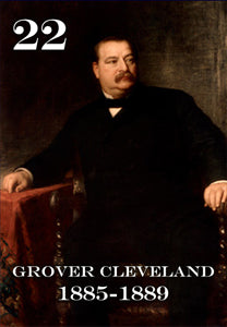 22 GROVER CLEVELAND - 2X3