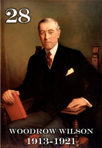 "28 WOODROW WILSON - 2X3"" FRIDGE MAGNET"