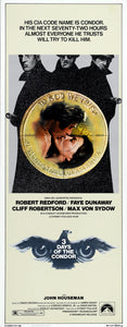 3 DAYS OF THE CONDOR (1975) 14X36