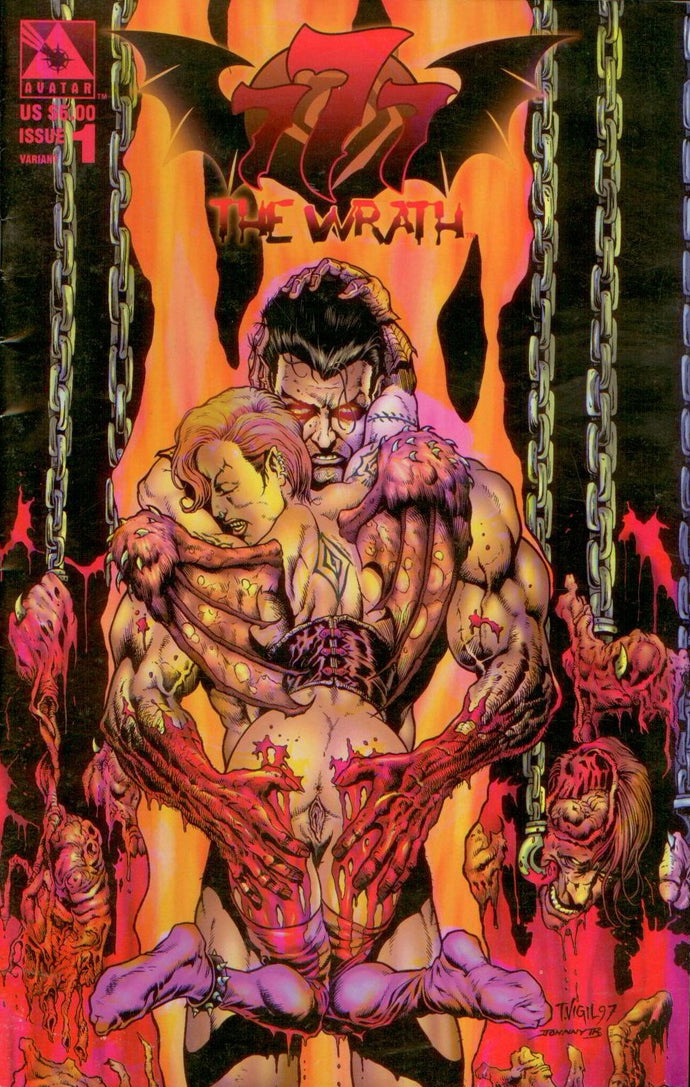 777: THE WRATH 1, NUDE VARIANT, AVATAR 1998