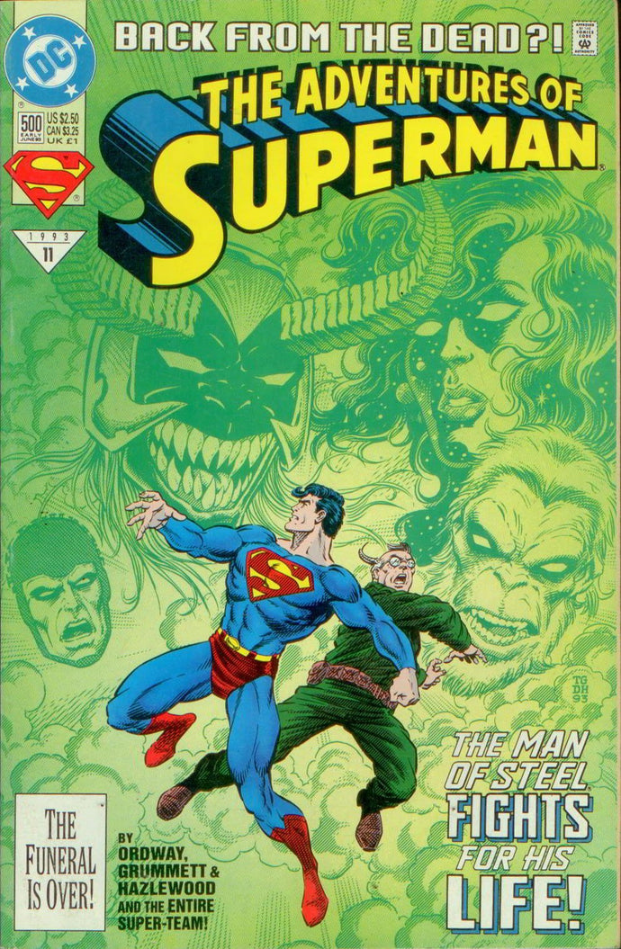 ADVENTURES OF SUPERMAN 500, DC 1993