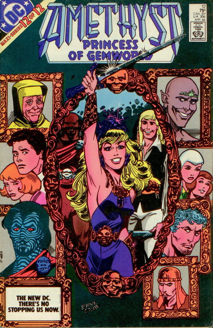 AMETHYST, PRINCESS OF GEMWORLD V1 12 of 12, DC 1984