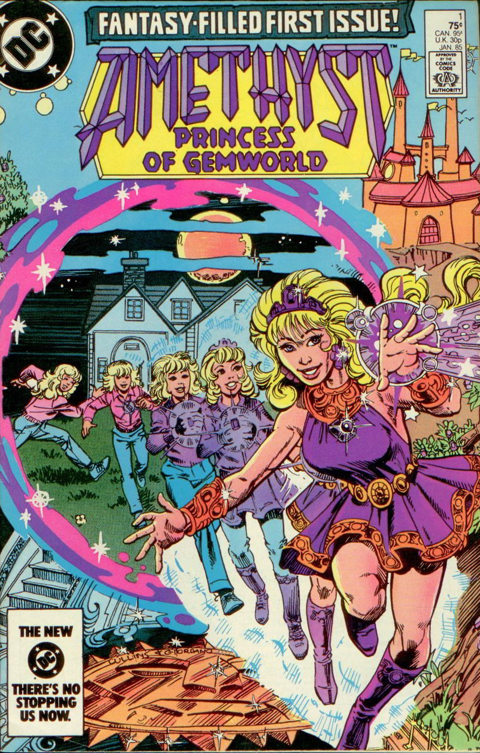 AMETHYST, PRINCESS OF GEMWORLD V2  01,  DC 1985