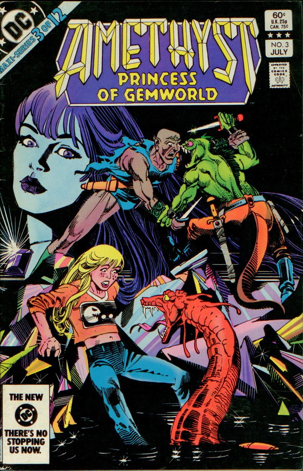 AMETHYST, PRINCESS OF GEMWORLD V1 4 of 12, DC 1983