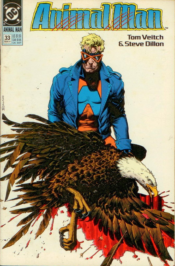ANIMAL MAN 33, DC 1991