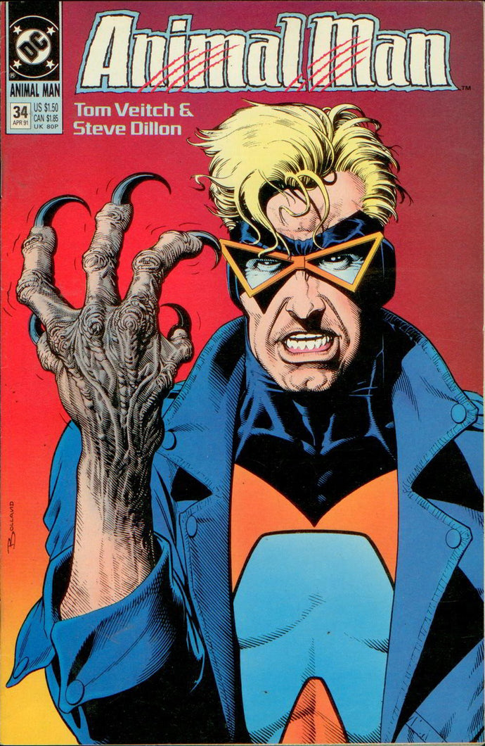 ANIMAL MAN 34, DC 1991