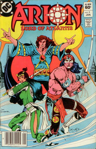 ARION, LORD OF ATLANTIS 03, DC 1983