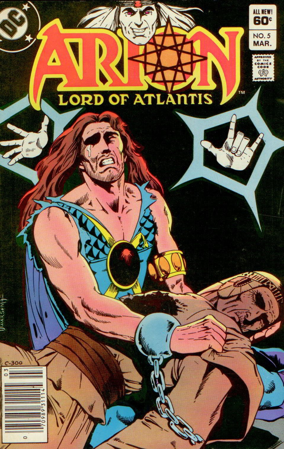 ARION, LORD OF ATLANTIS 5, DC 1983