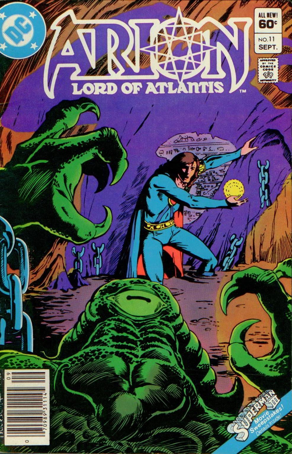 ARION, LORD OF ATLANTIS 11, DC 1983