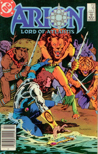 ARION, LORD OF ATLANTIS 16, DC 1984