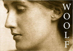 "AUTH16 - VIRGINIA WOOLF - 2X3"" FRIDGE MAGNET"