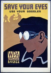 WPA32 - SAVE YOUR EYES - 2X3