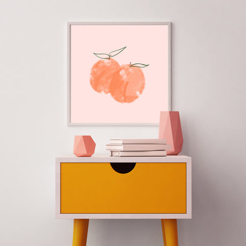 The Sweet Peach Print