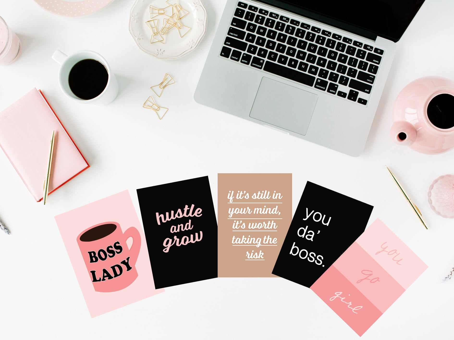 Boss Lady Post Card Pack