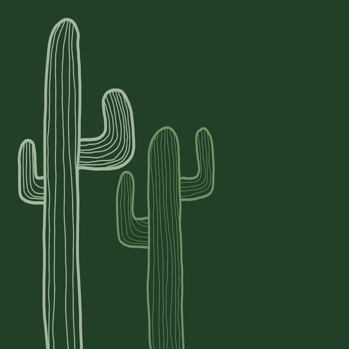 The Green Cactus Brothers