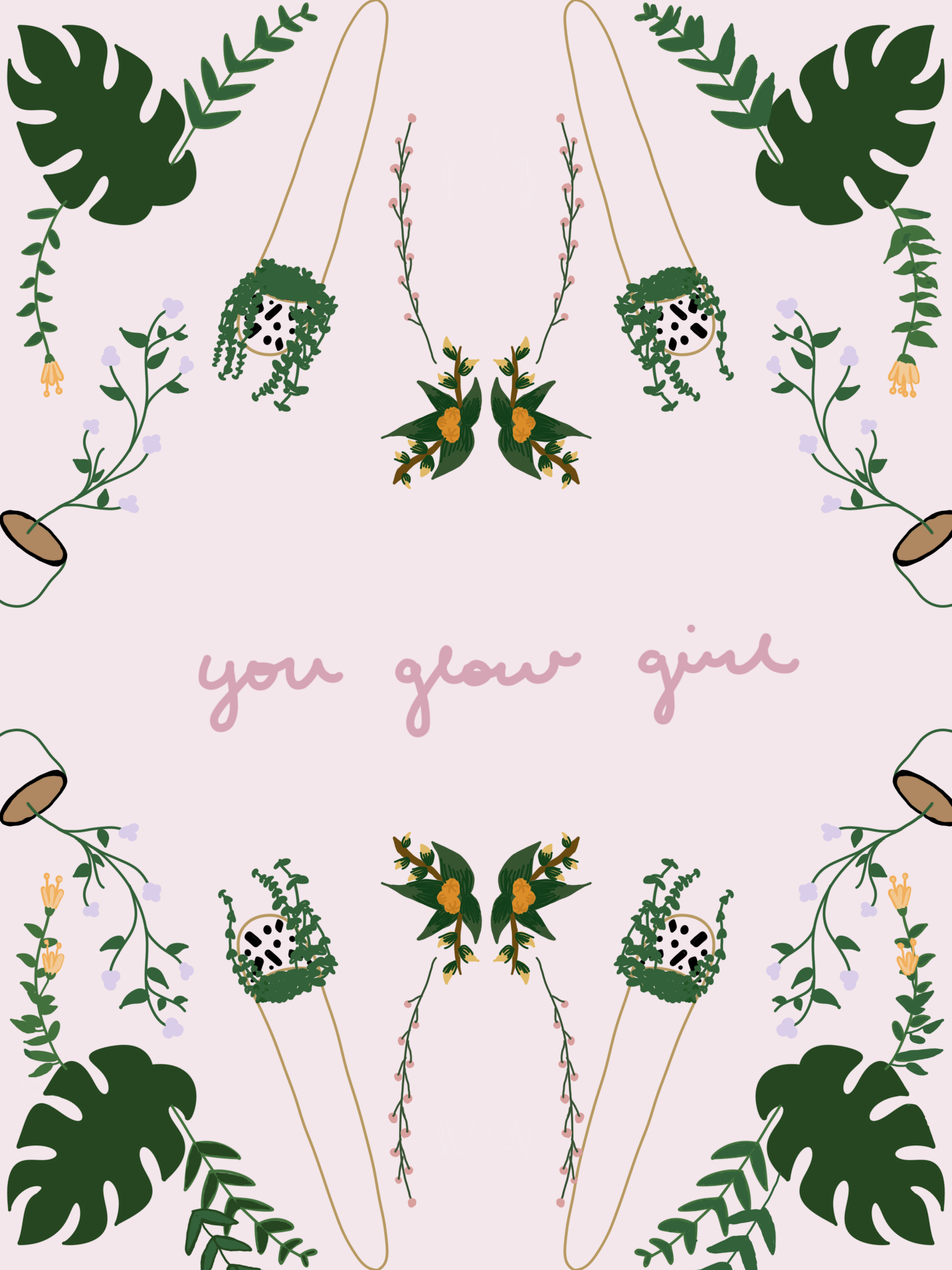 The You Glow Girl Print
