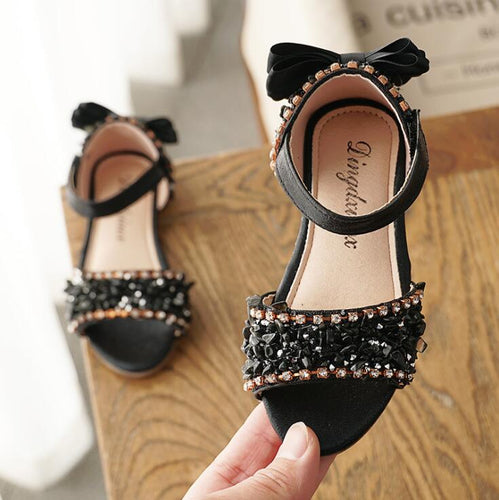 2019 new Summer Children girls Crystal bling shoes
