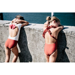Girls Sweet Swimming Suits