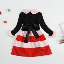 Girl Dress Long Sleeve Polka Dot