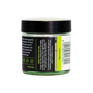 Kiriwai Natural Deodorants Lime & Litsea directions label