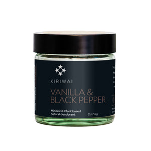 Vanilla & Black Pepper Deodorant