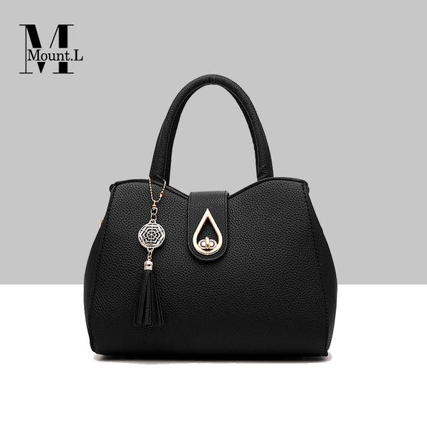 Italy Mount. L Genuine Leather Handbag