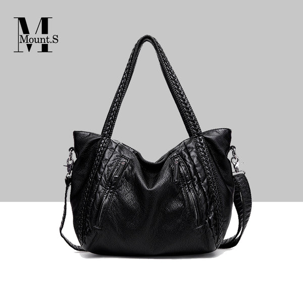 New Arrival Weave Style Big Capacity Shoulder Bag