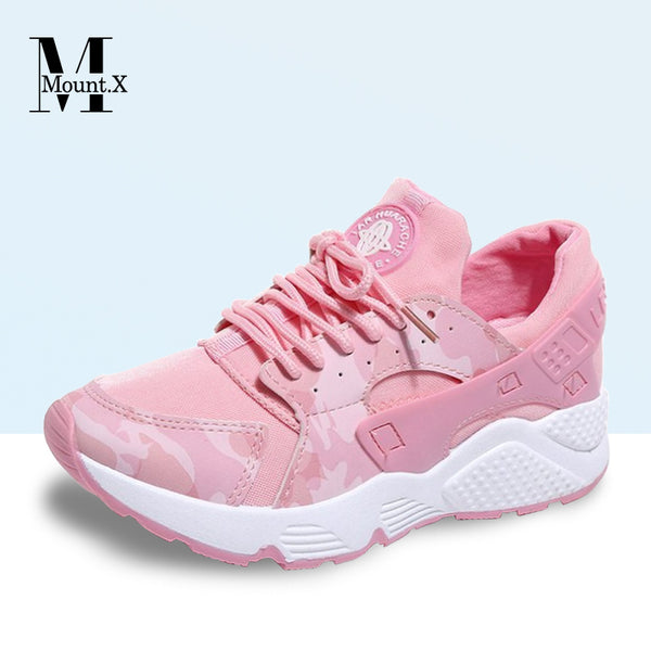 low priced 531ec 6ffee 【New Arrival】2018 New Trend Pink Huarache Shoes