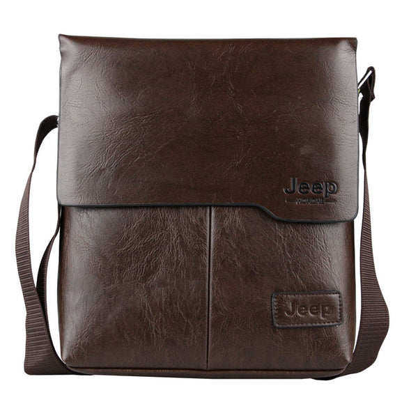 【New Arrival】BAILLR Jeep Men's Business Messenger Bag