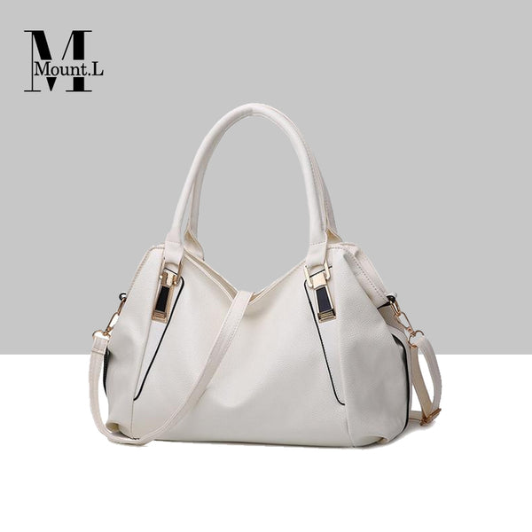 Elegant Italy Mount.L Leather Handbag