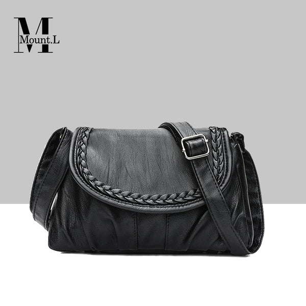 Weave Style Leather Water Bag