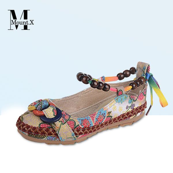 【New Arrrival】Embroidery Leather Sandals【RM219 for one RM279 for two】